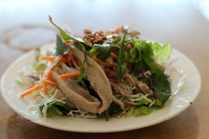 duck salad vietnamese ginger