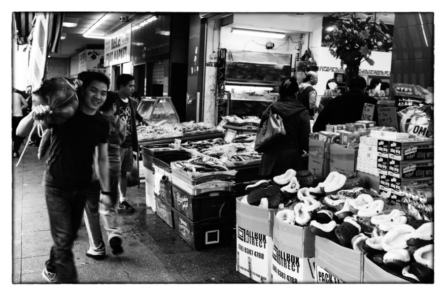 """Market runner"" taken by Rob P on 21/04/2014"